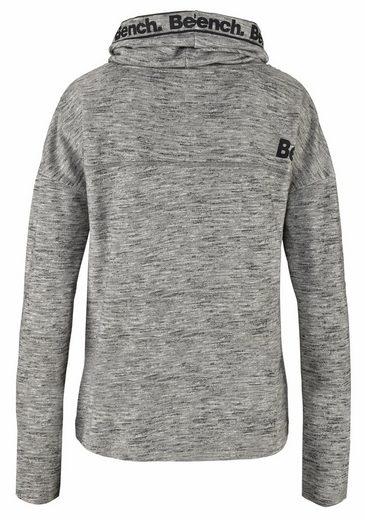 Banc. Sweat-shirt Avec Col Châle