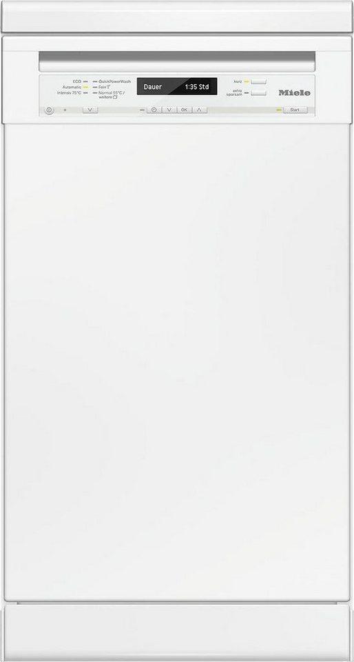 MIELE Geschirrspüler G 4820 SC BRWS, A+++, 8,7 Liter, 9 Maßgedecke in weiß