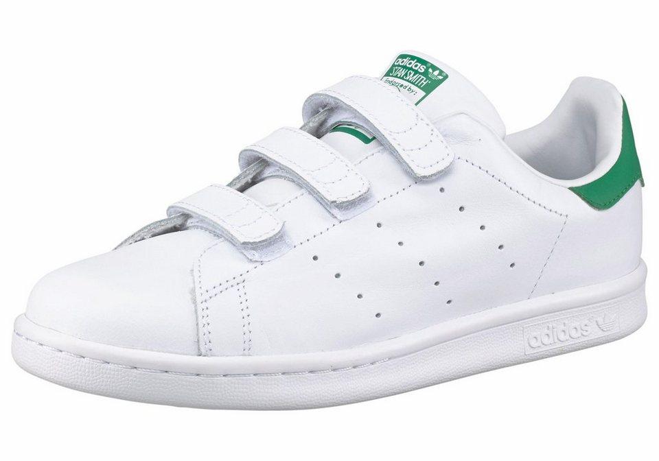 adidas Originals Stan Smith CF C Sneaker in Weiß-Grün