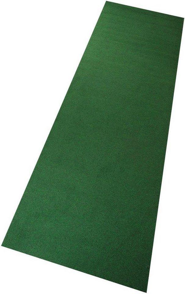 Teppich, Living Line, »Kunstrasen«, In- und Outdoorgeeignet, getuftet, Wunschmaß in grün