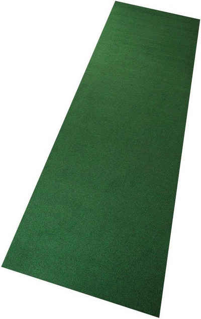 Kunstrasen »Rasenteppich, grün«, Living Line, rechteckig, Höhe 8 mm, mit Noppen, In- und Outdoor geeignet, Meterware