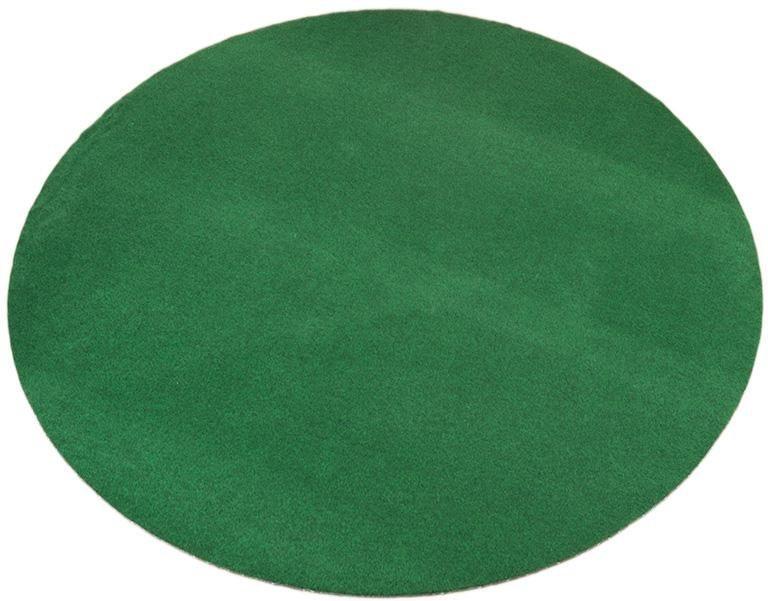 Teppich, rund, Living Line, »Kunstrasen«, In- und Outdoorgeeignet, getuftet in grün