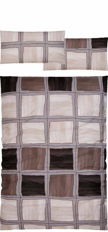 bettw sche anton auro hometextile mit gewischter optik online kaufen otto. Black Bedroom Furniture Sets. Home Design Ideas