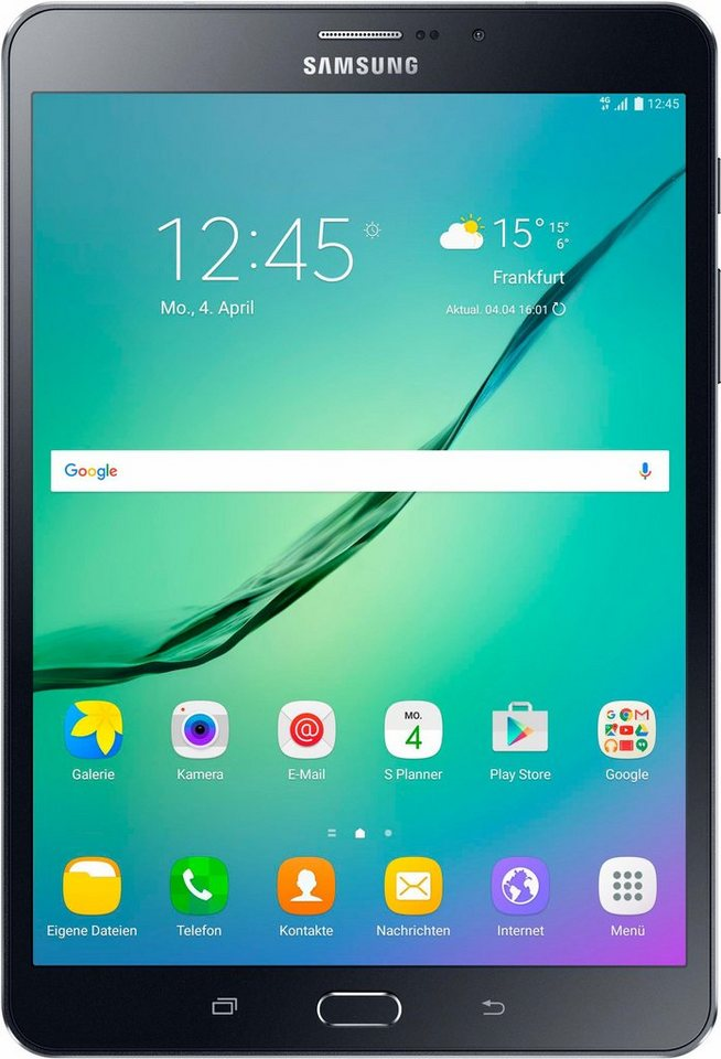 Samsung Galaxy Tab S2 8.0 LTE Tablet-PC, Android 6.0, Octa-Core, 20,3 cm (8 Zoll), 3072 MBLPDDR3 in schwarz