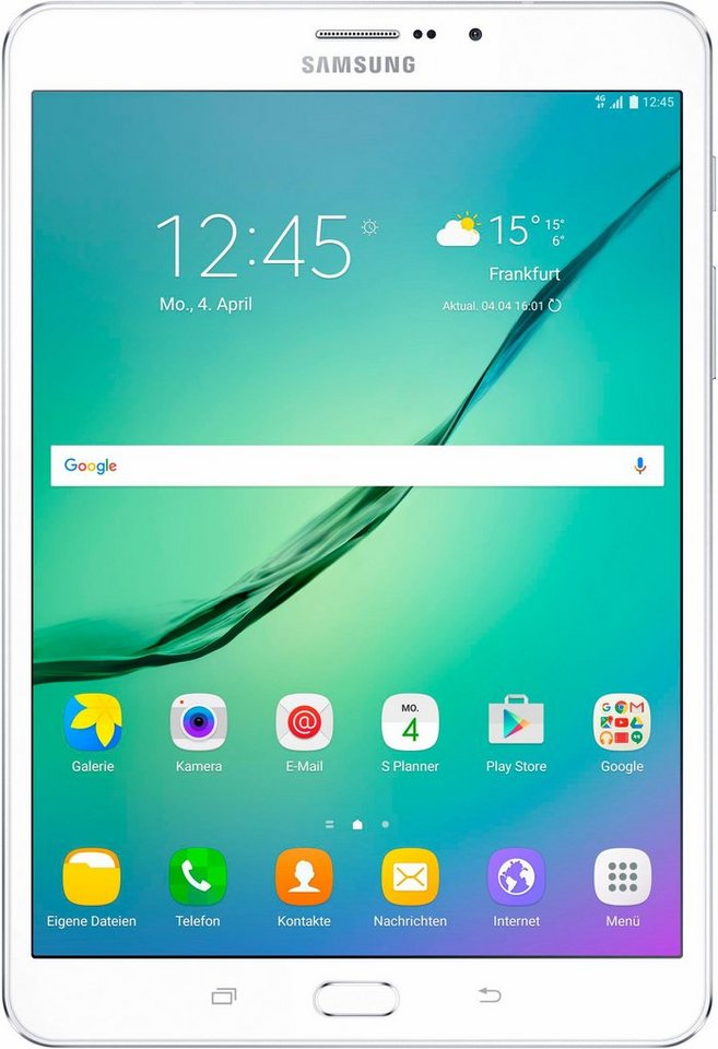 Samsung Galaxy Tab S2 8.0 LTE Tablet-PC, Android 6.0, Octa-Core, 20,3 cm (8 Zoll), 3072 MBLPDDR3 in weiß