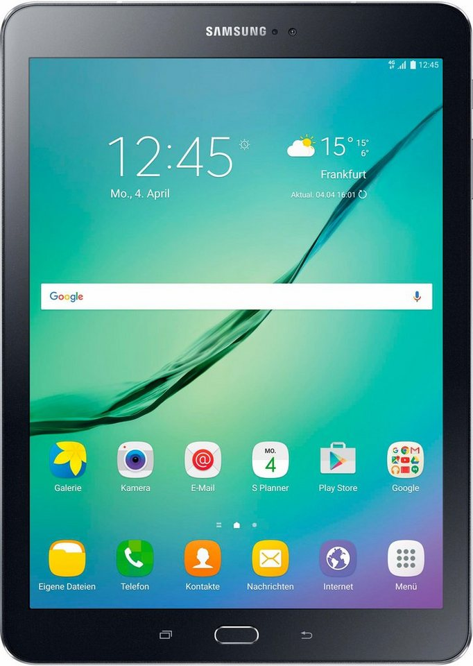 Samsung Galaxy Tab S2 9.7 LTE Tablet-PC, Android 6.0, Octa-Core, 24,6 cm (9,7 Zoll), 3072 MBLPDDR3 in schwarz