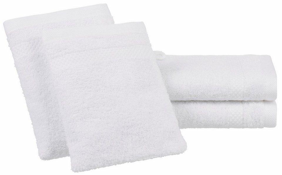 Handtuch Set, Dyckhoff, »Planet«, mit schlichter Bordüre in weiß