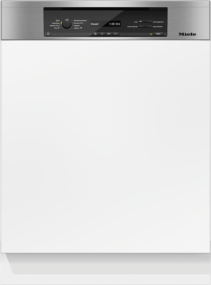 MIELE Teilintegrierbarer Geschirrspüler G 6845 SCi XXL EDST/CLST, A+++, 9,9 Liter, 14 Maßgedecke