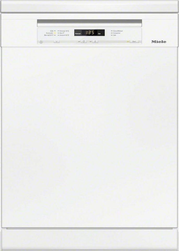 MIELE Geschirrspüler G 6200 SC BRWS, A+++, 9,7 Liter, 14 Maßgedecke in weiß