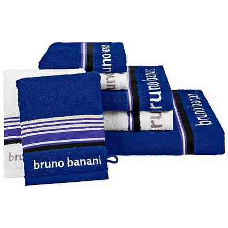 Handtuch Set, Bruno Banani, »Maja«, mit farbiger Bordüre