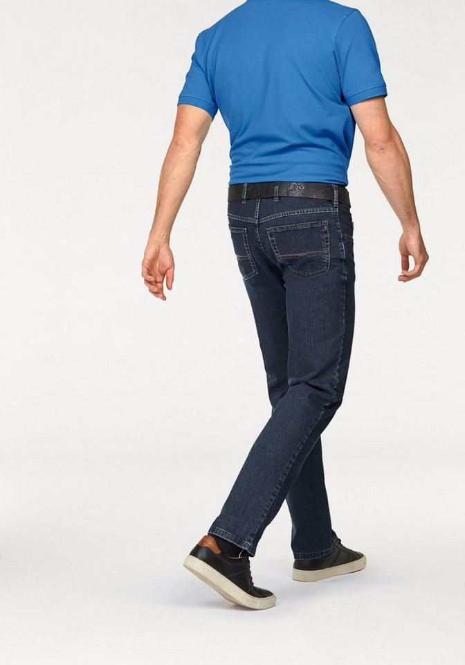 Pionier Stretch-Jeans »Peter« im 5-Pocket-Stil in stone