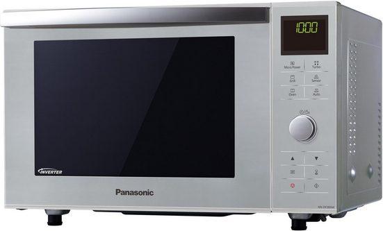 Panasonic Mikrowelle NN-DF385MEPG, 1000 W, mit Grill