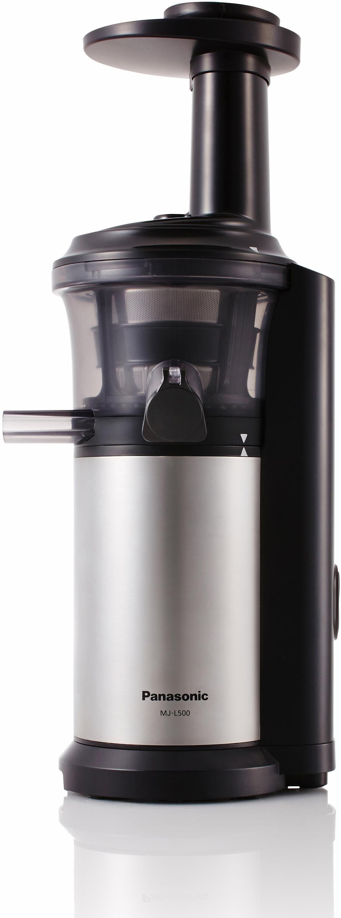 Panasonic Slow Juicer MJ-L500SXE, 150 Watt