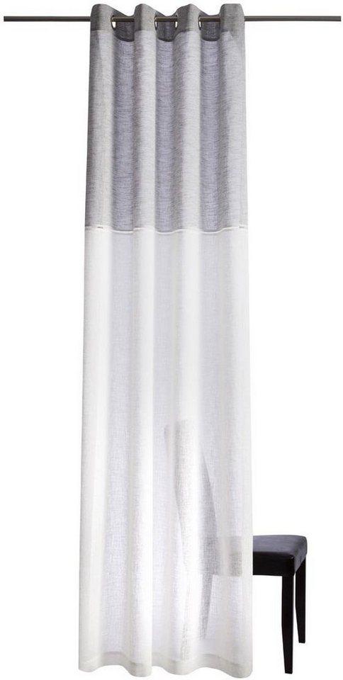 Vorhang, Homing, »Caja« (1 Stück) in creme/grau
