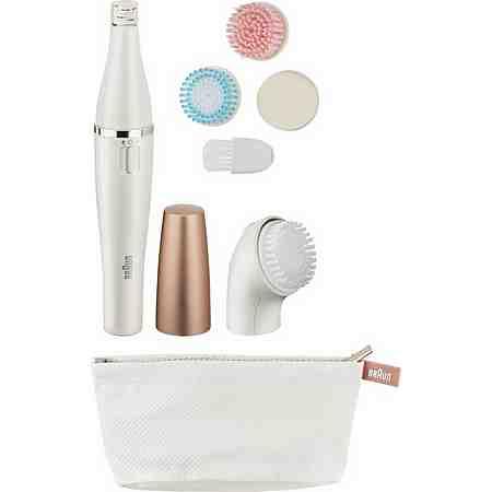 Braun Gesichtsreinigungsbürste und Epiliergerät Face 851, mit Aufsatz Mix