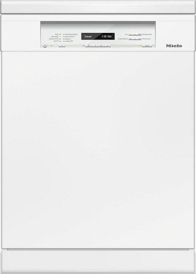 MIELE Geschirrspüler G 6820 SC BRWS, A+++, 9,9 Liter, 14 Maßgedecke in weiß