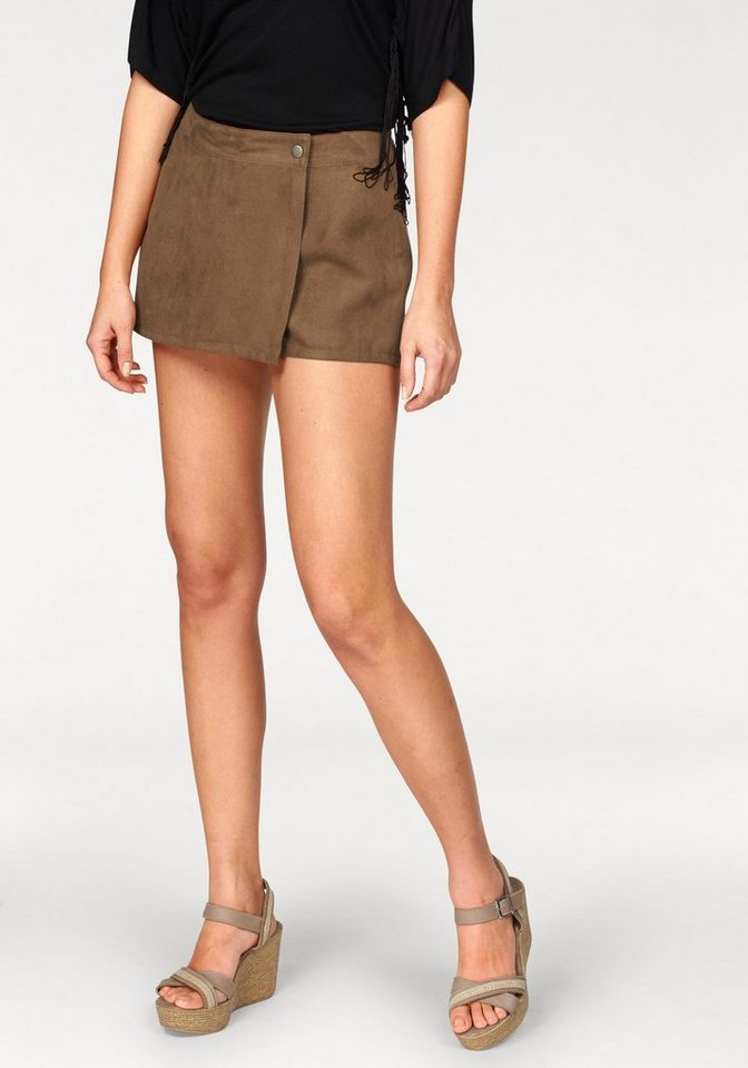 Aniston Shorts in cognac