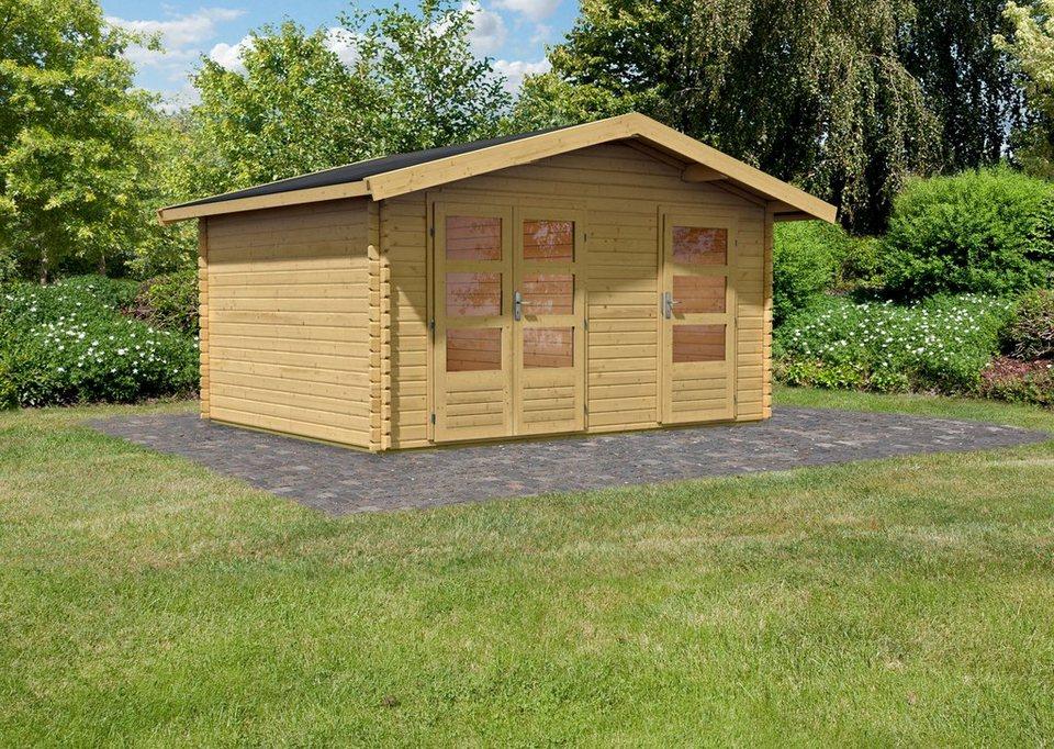 Gartenhaus »Fagor 1«, BxT: 402x312 cm in natur