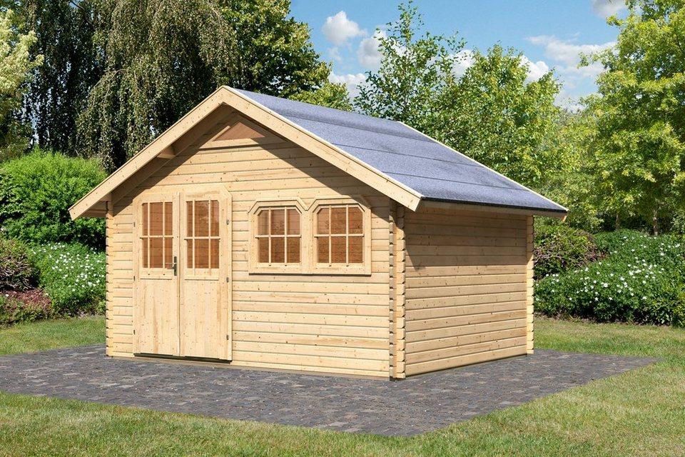 Gartenhaus »Doderic 3«, BxT: 402x282 cm in natur