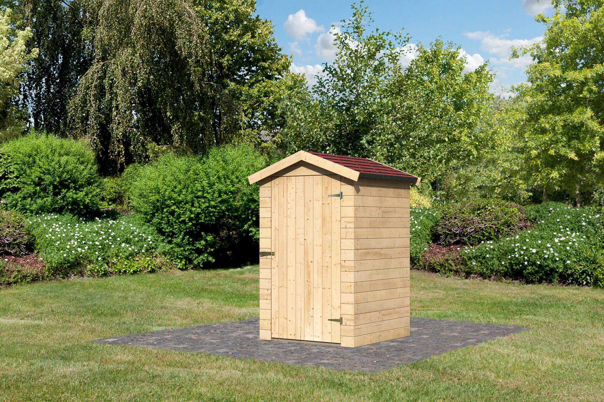 Set: Gartenhaus »Hörby 1 (BxT: 119 x 121 cm)«