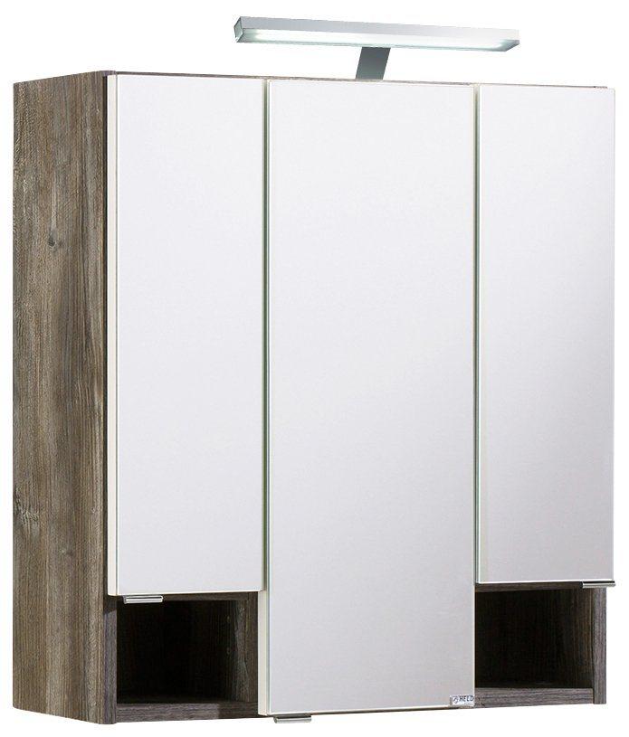 Spiegelschrank »Kapstadt«, Breite 60 cm in eichefarben vintage