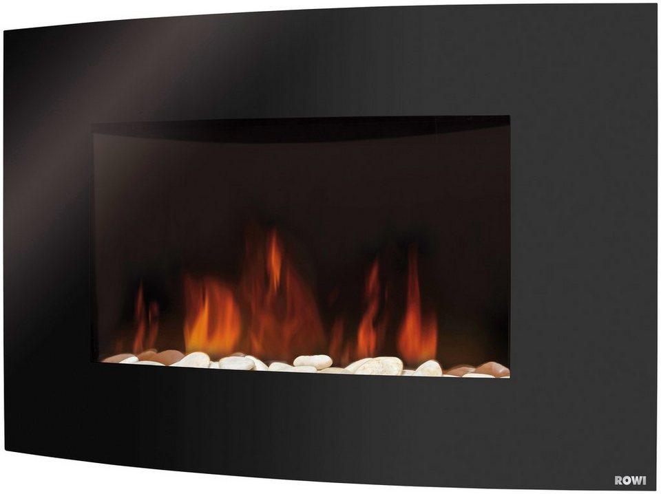 rowi elektrisches kaminfeuer hek 2000 2 1 f schwarz mit fernbedienung online kaufen otto. Black Bedroom Furniture Sets. Home Design Ideas