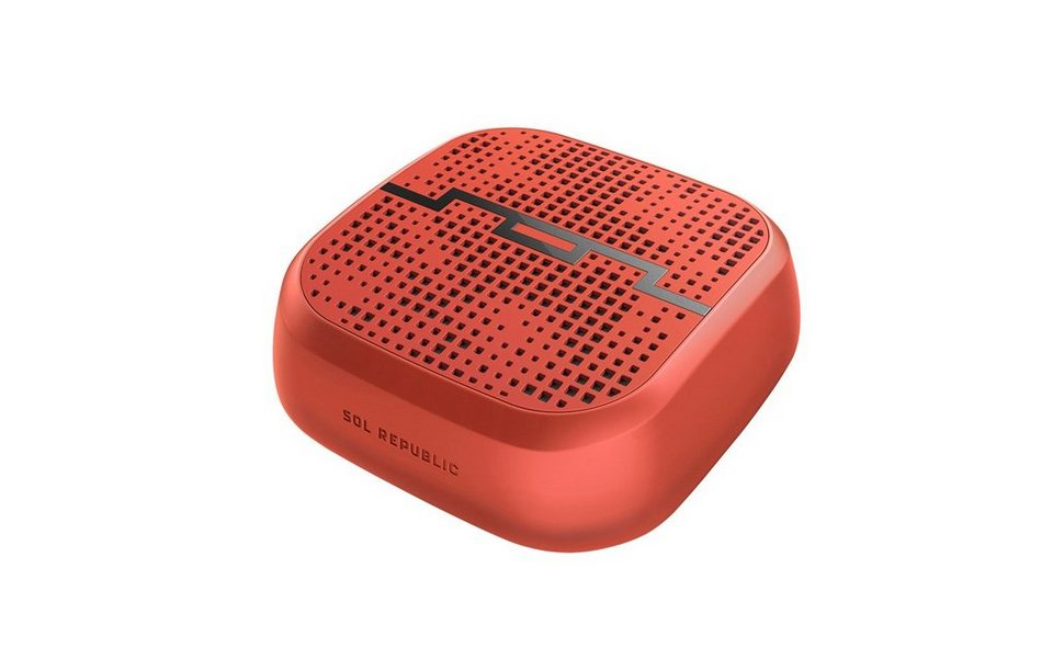 SOL Republic Wireless Lautsprecher »Punk« in fluoro red