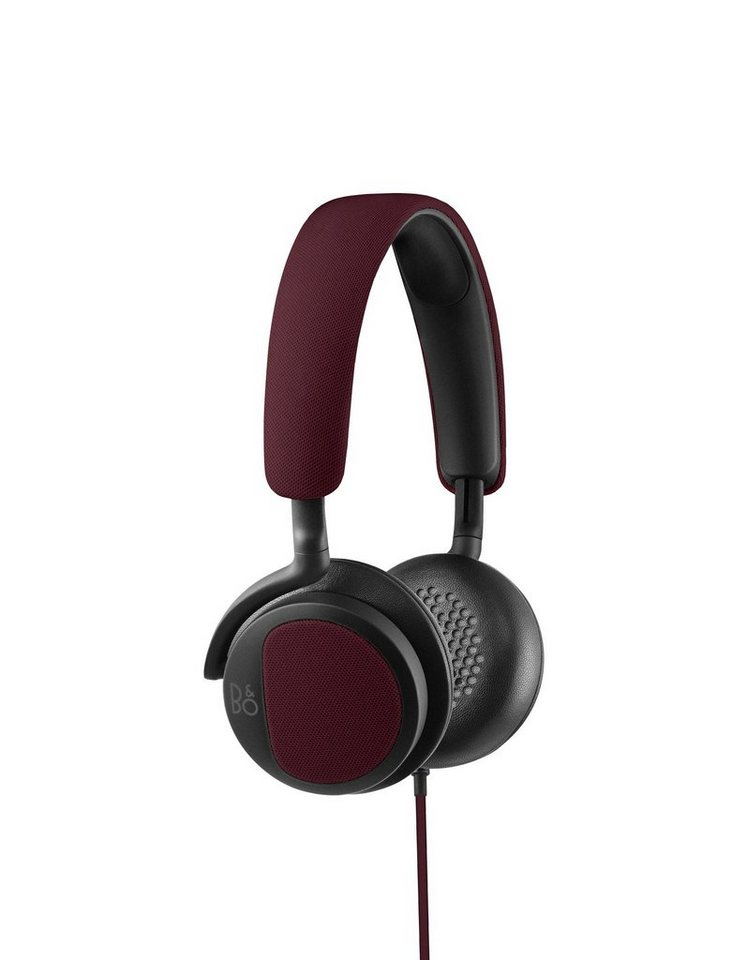 B&O-Play On-Ear Kopfhörer »BeoPlay H2« in deep red