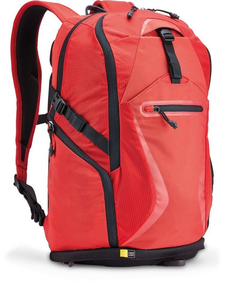 Caselogic Griffith Park Sportlicher Notebook-Rucksack bis 15,6 Zoll in red