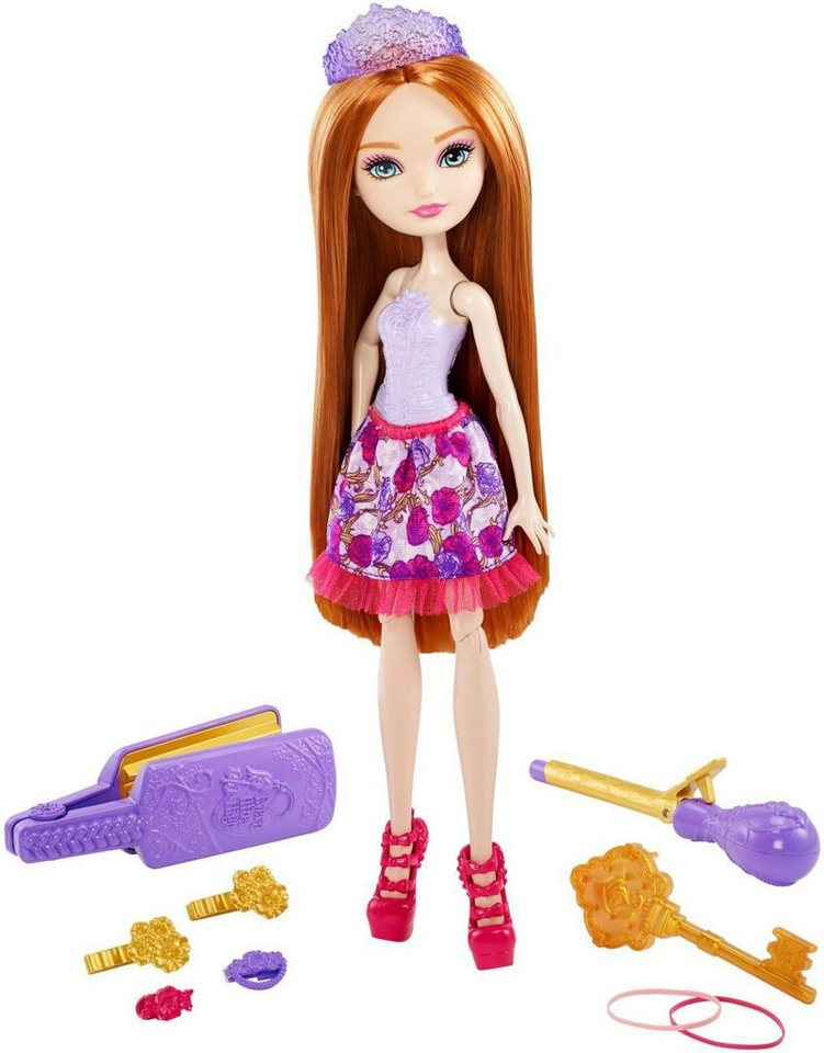 Mattel Puppe mit Stylingutensilien, »Ever After High Haarzauber Holly O´Hair«