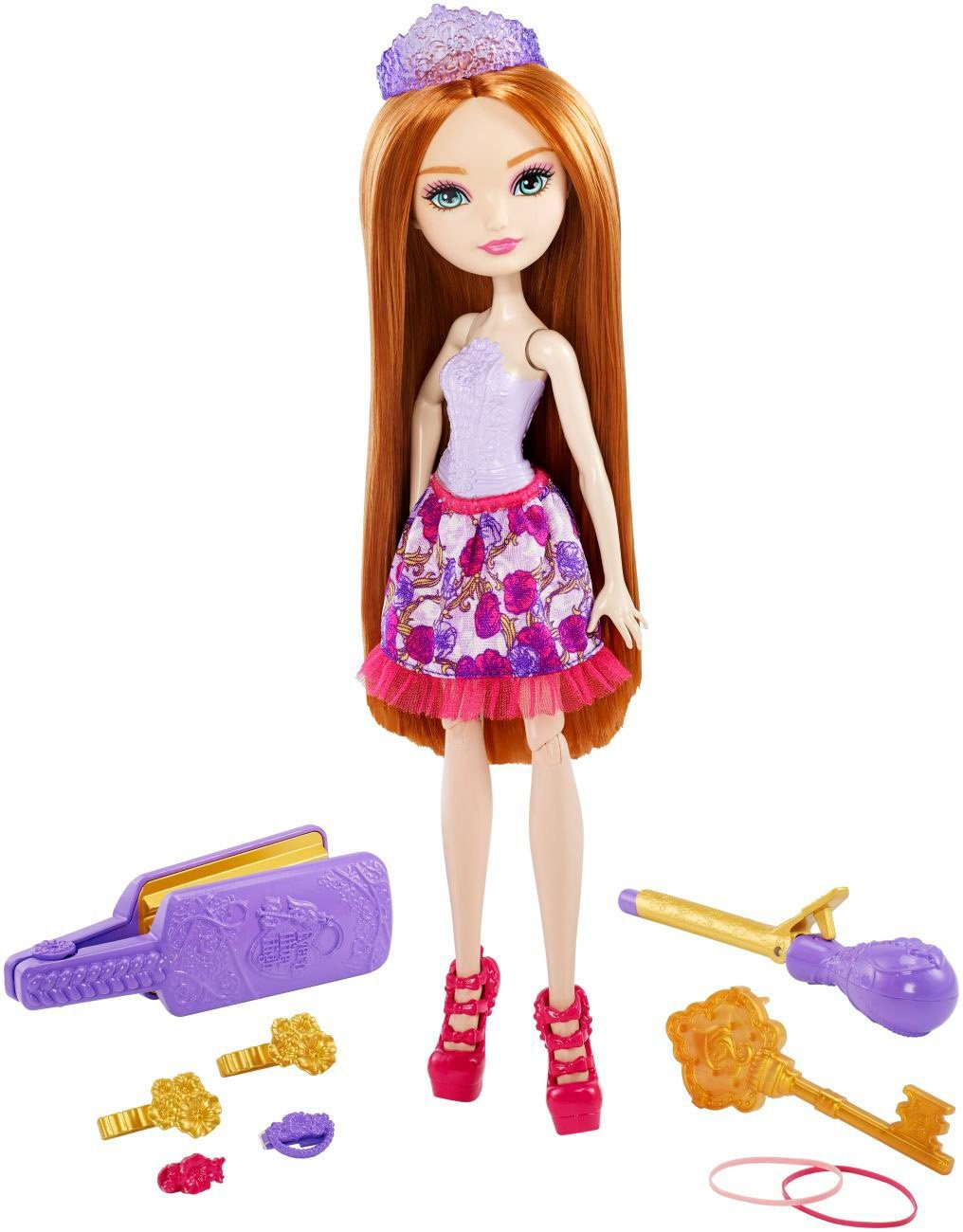 Mattel, Puppe mit Stylingutensilien, »Ever After High Haarzauber Holly O´Hair«