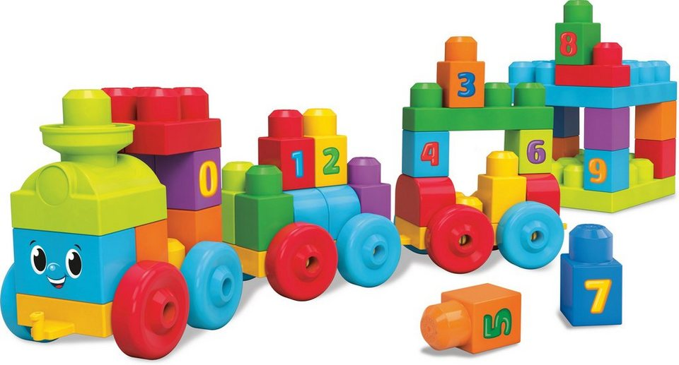 Mattel Lernspielzeug, »Mega Bloks 123 Lernzug«
