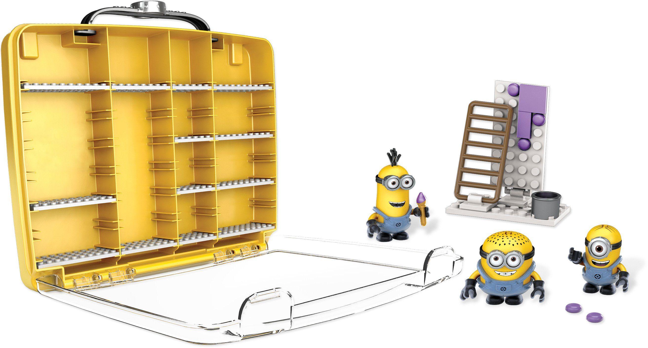 Mattel Sammelspielzeug, »Mega Bloks, Ich einfach unverbesserlich Minions Sammelkoffer«