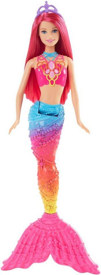 Mattel Puppe mit Flosse, »Barbie Regenbogen Meerjungfrau«