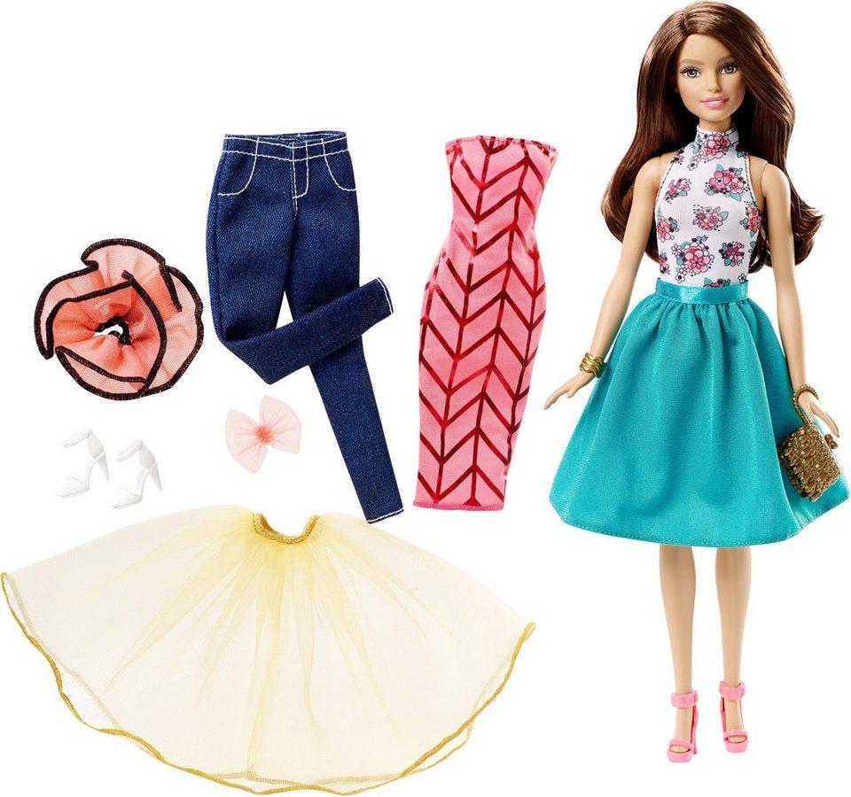 mattel puppenset barbie teresa und modeset zum. Black Bedroom Furniture Sets. Home Design Ideas