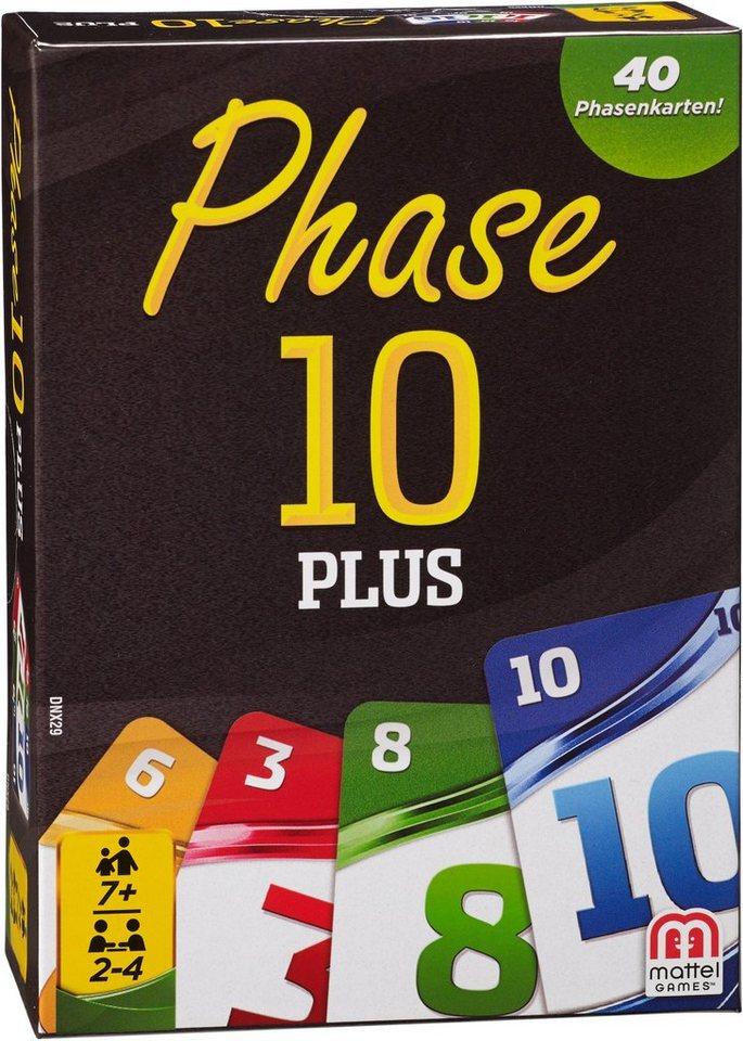Mattel Kartenspiel, »Mattel Games Phase 10 Plus«