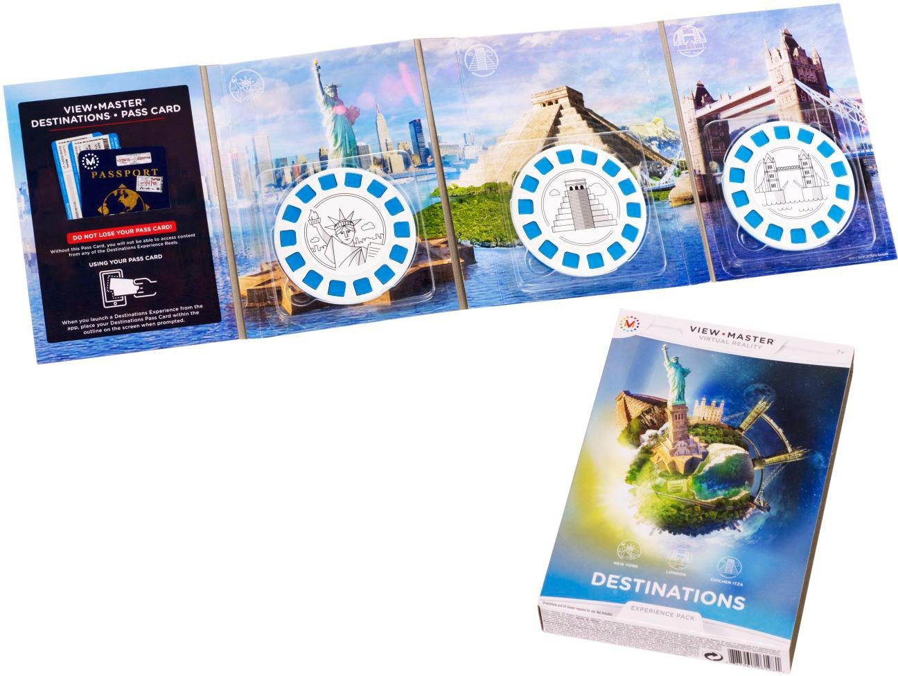 Mattel View Master® Erweiterungspack, »Spannende Orte«