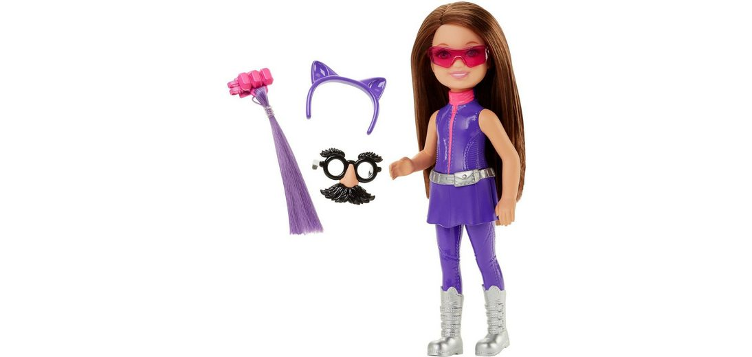 Mattel Puppe mit Kostüm, »Barbie Das Agententeam - Junior Geheimagentin Lila«