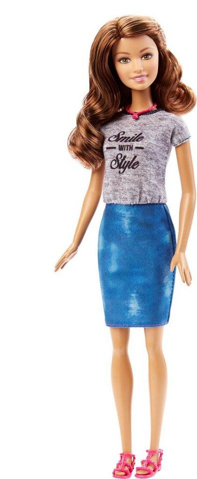 Mattel Puppe im Print-Kleid, »Barbie Fashionista Smile with Style«