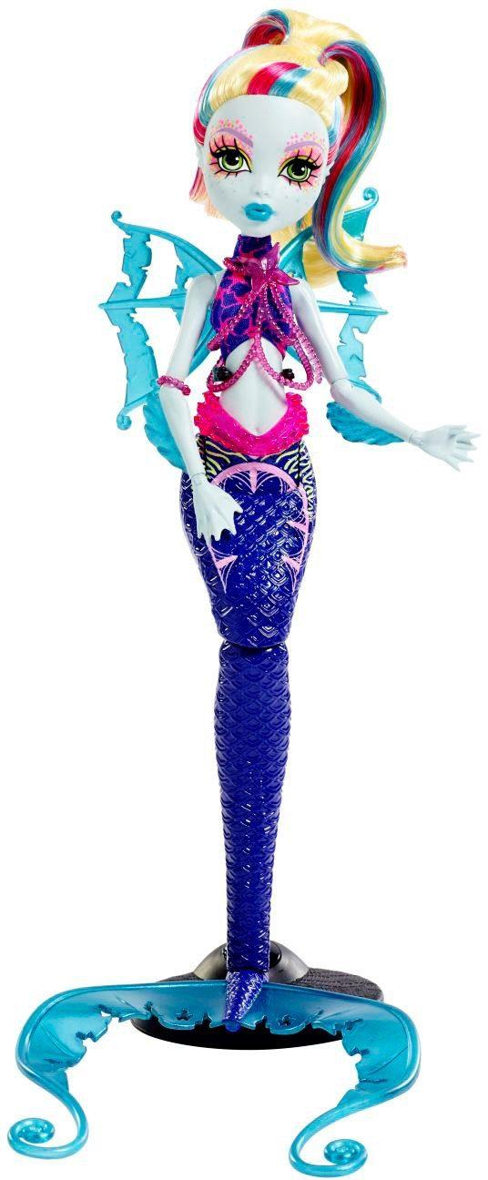 Mattel Puppe mit Leuchteffekten, »Das große Schreckensriff Leuchtende Monsterfische Lagoona«