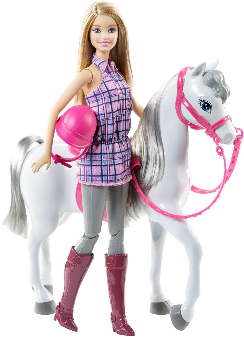 Mattel, Puppe mit Ross, »Barbie & Pferd«