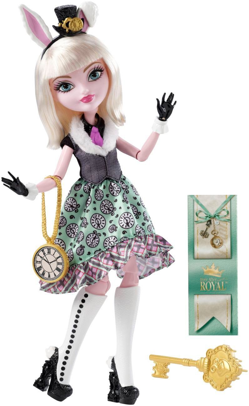 Mattel Puppe mit Accessoires, »Ever After High Bunny Blanc«