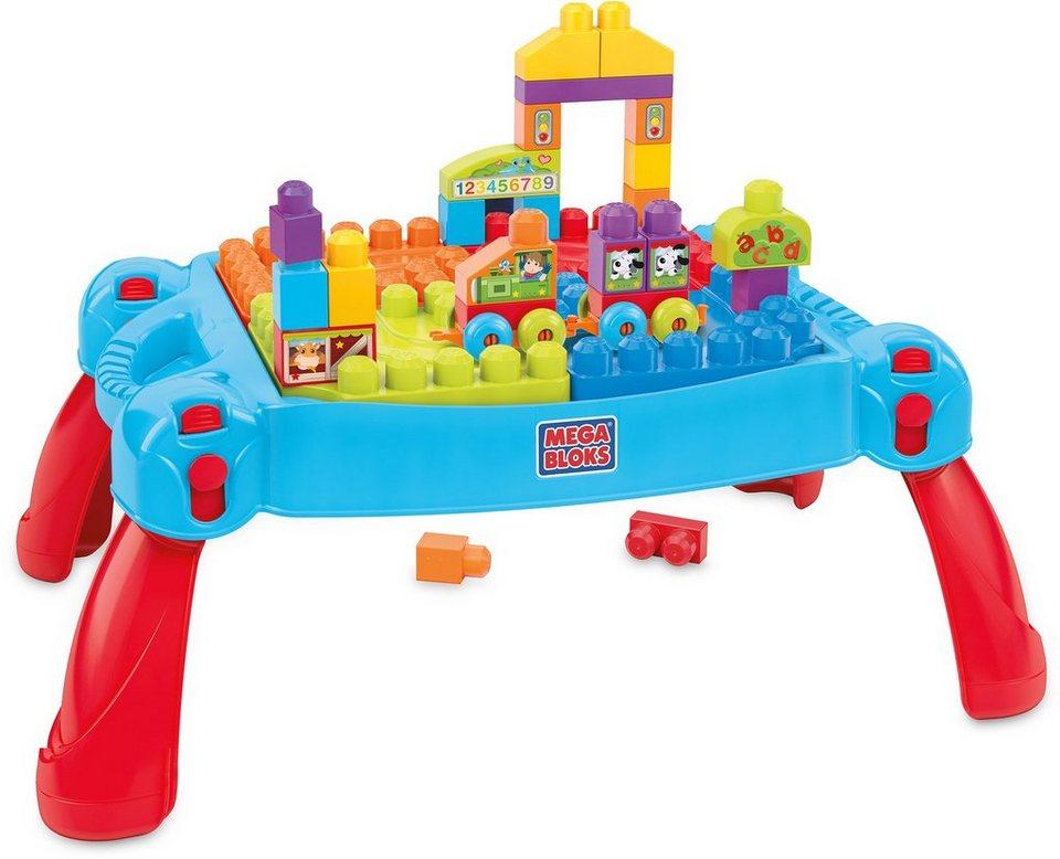 Mattel Lernspielzeug, »Mega Bloks Bau und Spieltisch«