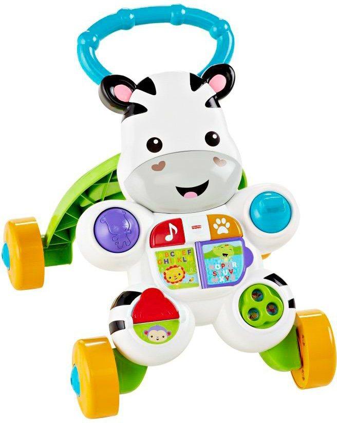 Fisher Price Lauflernhilfe, »Lern mit mir Zebra Lauflernwagen«