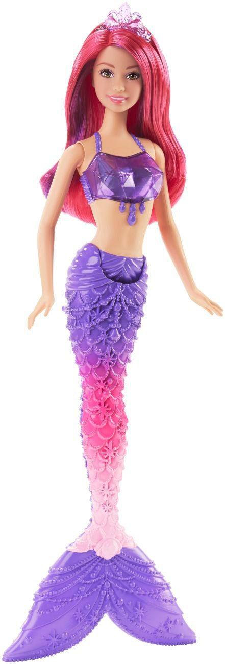 Mattel, Puppe mit Flosse, »Barbie Juwelen Meerjungfrau«