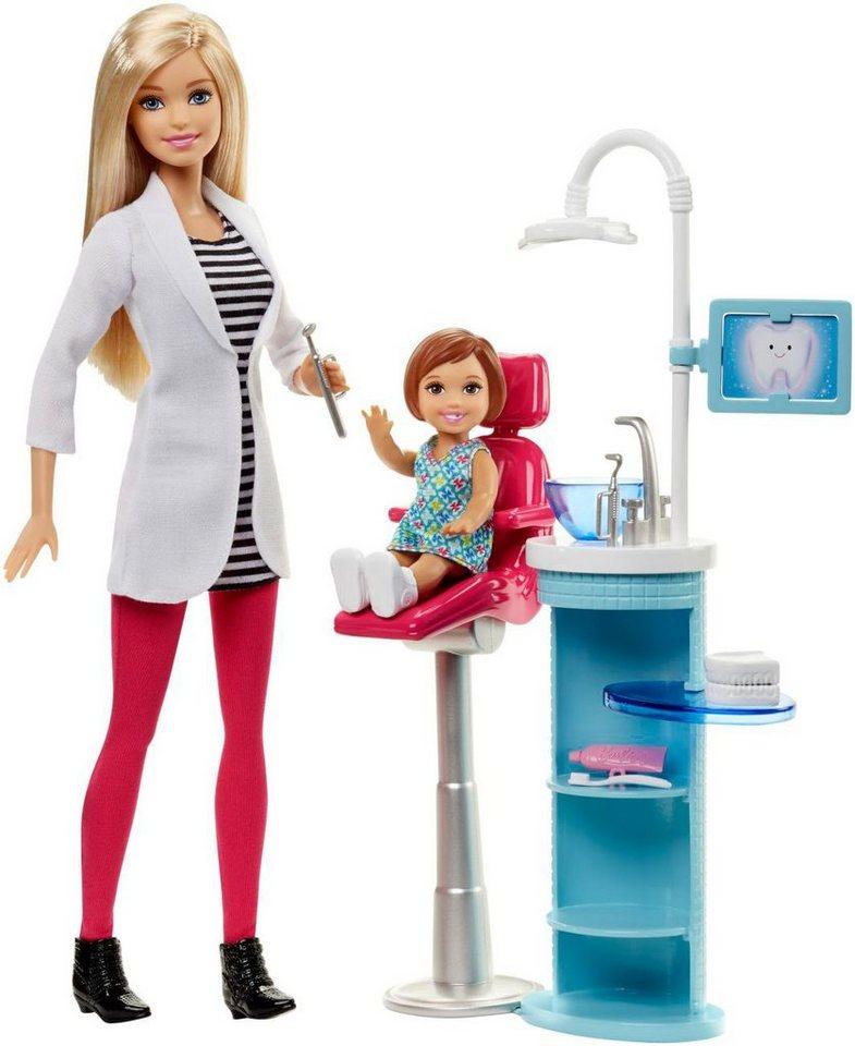 Mattel Puppenspielset, »Barbie Ich wäre gern... Zahnärztin«