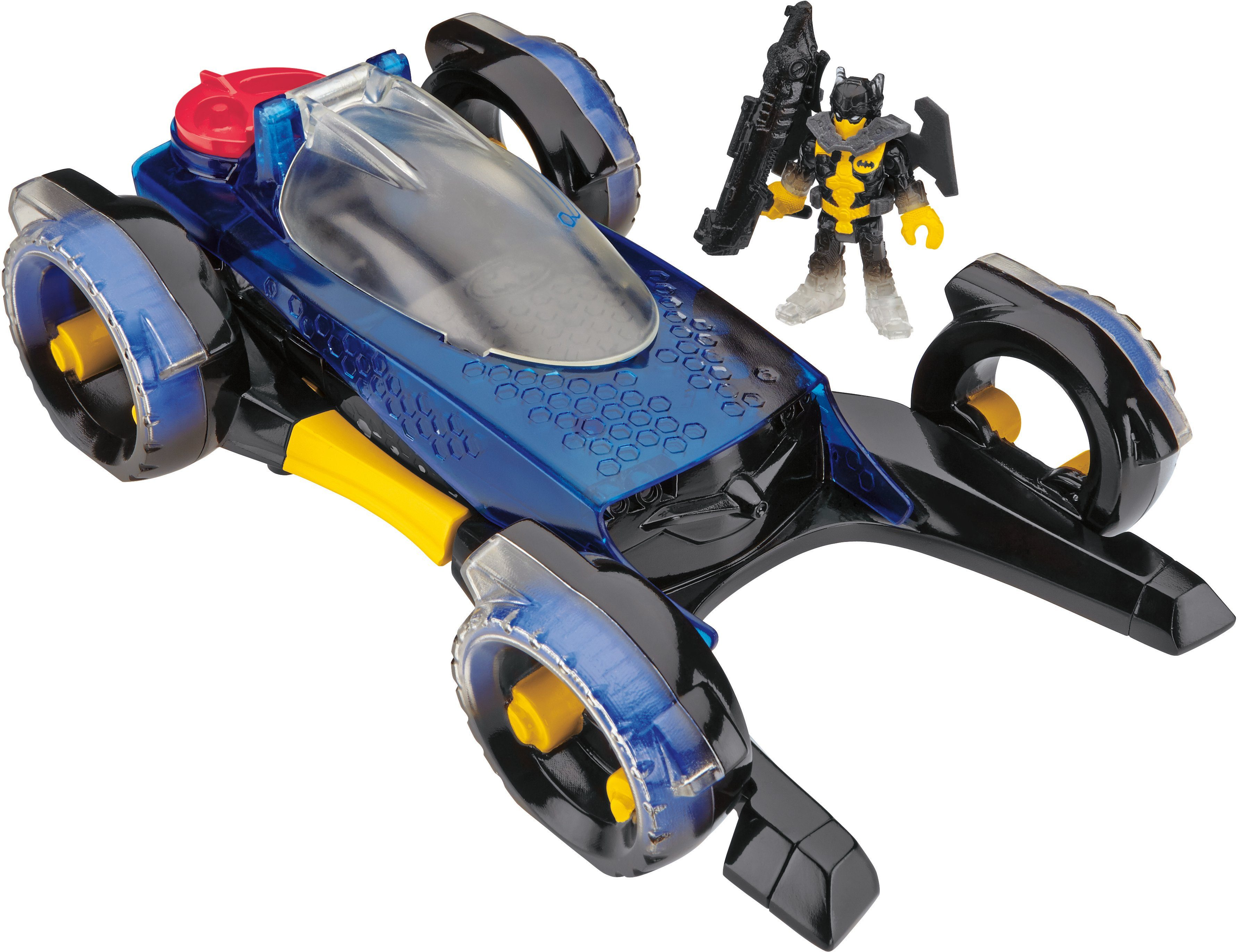Mattel, Spielzeugauto mit Verwandlungsfunktion, »Verwandelbares Batmobil«