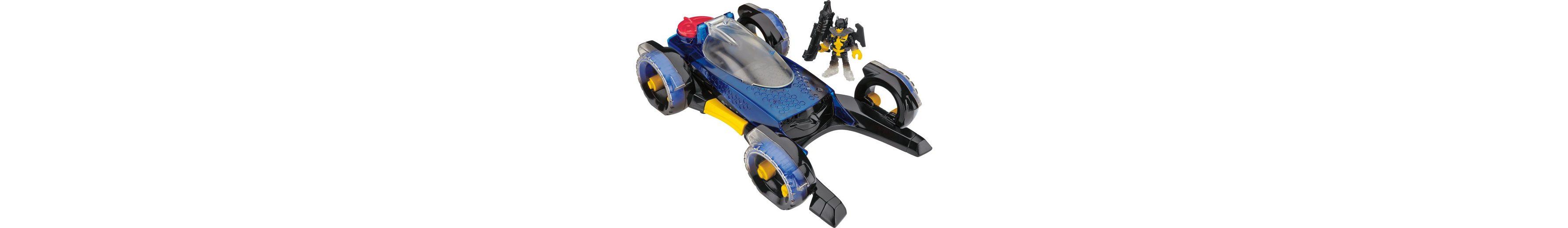 Mattel Spielzeugauto mit Verwandlungsfunktion, »Verwandelbares Batmobil«