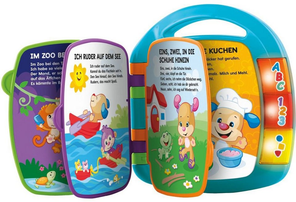 Fisher price elektronisches babyspielzeug lernspaß