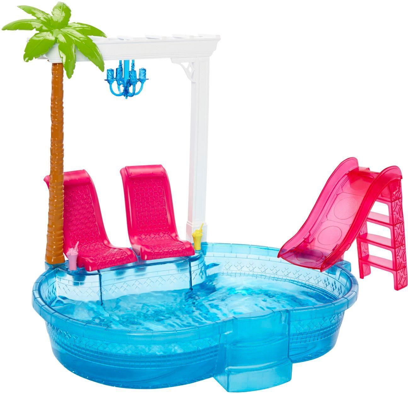 Mattel, Puppen Schwimmbecken, »Barbie Glam Pool!«